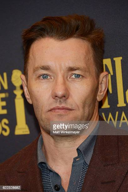 Actor Joel Edgerton arrives at the Hollywood Foreign Press Association and InStyle celebrate the 2017 Golden Globe Award Season at Catch LA on...