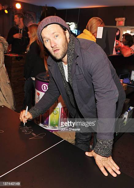 Actor Joel Edgerton attends day 1 of the Puma Social Lounge at TMobile Google Music Village at The Lift on January 20 2012 in Park City Utah