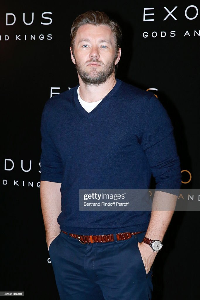 Actor Joel Edgerton (Ramses) attends the 'Exodus: Gods and Kings' Paris Photocall at Hotel Bristol on December 2, 2014 in Paris, France.