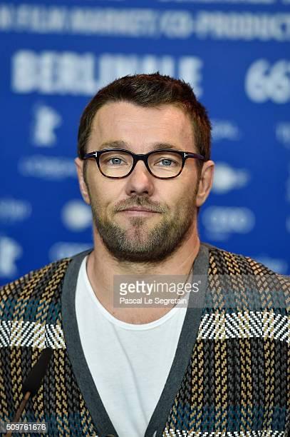Actor Joel Edgerton attends the 'Midnight Special' press conference during the 66th Berlinale International Film Festival Berlin at Grand Hyatt Hotel...