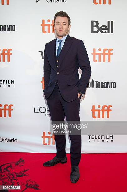 Actor Joel Edgerton attends the premiere of Loving during the 2016 Toronto International Film Festival at Roy Thomson Hall on September 11 2016 in...