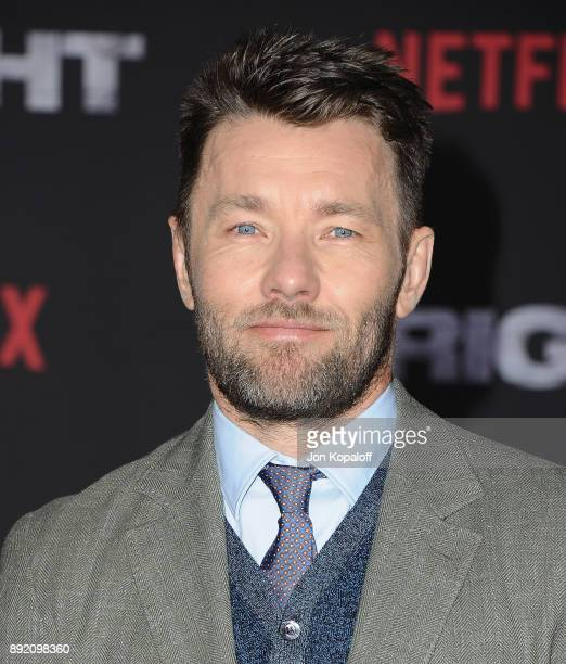 Actor Joel Edgerton attends the premiere of Netflix's 'Bright' at Regency Village Theatre on December 13 2017 in Westwood California