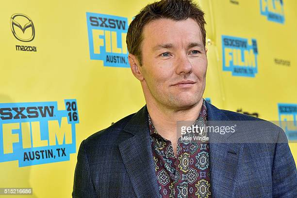 Actor Joel Edgerton attends the screening of 'Midnight Special' during the 2016 SXSW Music Film Interactive Festival at Paramount Theatre on March 12...