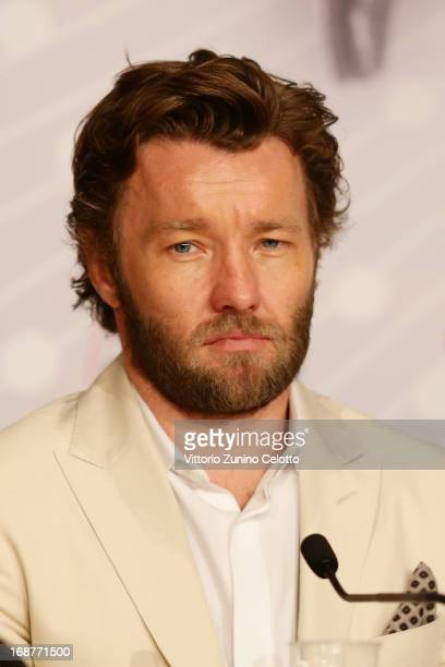 Actor Joel Edgerton attends the 'The Great Gatsby' Press Conference during the 66th Annual Cannes Film Festival at the Palais des Festivals on May 15...