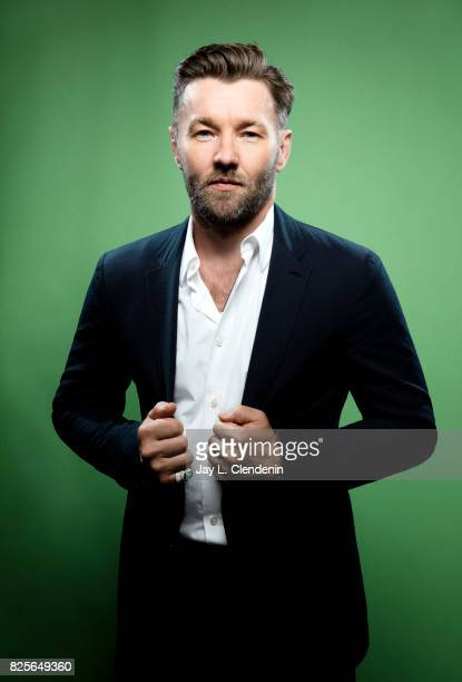 Actor Joel Edgerton from the film 'Bright' is photographed in the LA Times photo studio at ComicCon 2017 in San Diego CA on July 20 2017 CREDIT MUST...