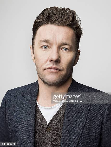 Actor Joel Edgerton poses for a portraits at the BAFTA Tea Party at Four Seasons Hotel Los Angeles at Beverly Hills on January 7 2017 in Los Angeles...