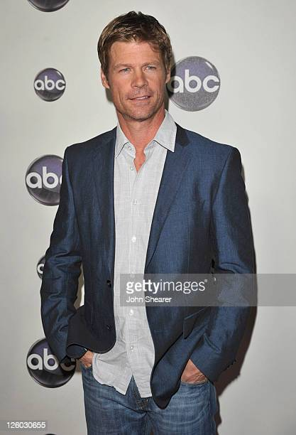 Actor Joel Gretsch arrives to the Disney ABC Television Group Winter Press Tour at the Langham Hotel on January 10 2011 in Pasadena California