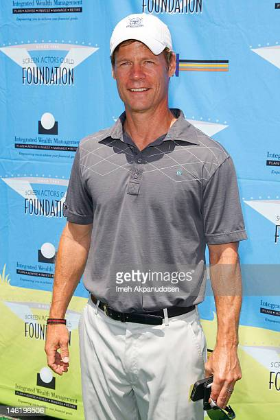 Actor Joel Gretsch attends the 3rd Annual SAG Foundation Golf Classic at Lakeside Golf Club on June 11 2012 in Burbank California