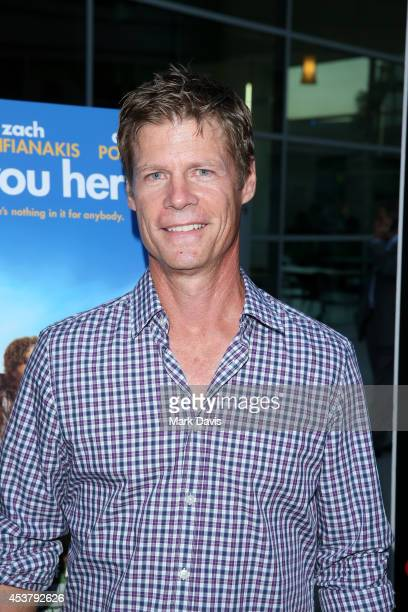 Actor Joel Gretsch attends the premiere of Are You Here at ArcLight Hollywood on August 18 2014 in Hollywood California