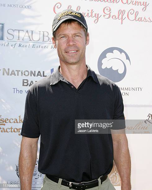 Actor Joel Gretsch attends The Salvation Army 2nd Annual Celebrity Invitational Golf Classic on May 29 2008 at the Trump National Golf Club Los...