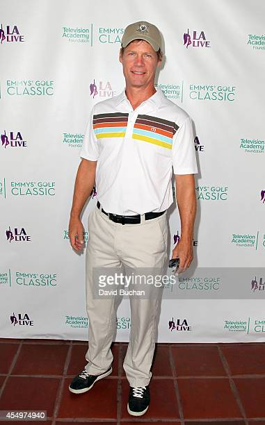 Actor Joel Gretsch attends The Television Academy Foundation's 15th Annual Emmys Golf Classic at Wilshire Country Club on September 8 2014 in Los...