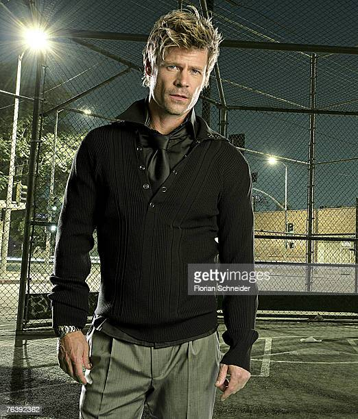 Actor Joel Gretsch is photographed for Emmy Magazine in 2006 in Los Angeles California PUBLISHED IMAGE