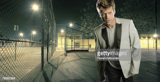 Actor Joel Gretsch is photographed for Emmy Magazine in 2006 in Los Angeles California