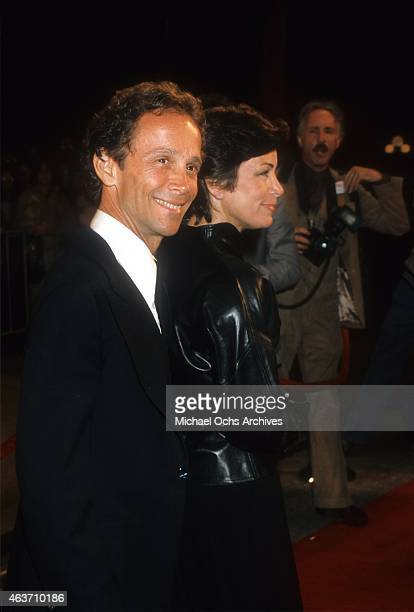 Actor Joel Grey and wife Jo Wilder attend an event circa 1973 in Los Angeles, California.