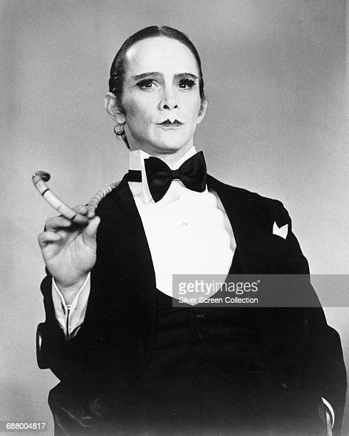 Actor Joel Grey as the Master of Ceremonies in a publicity still for the film 'Cabaret', 1972.
