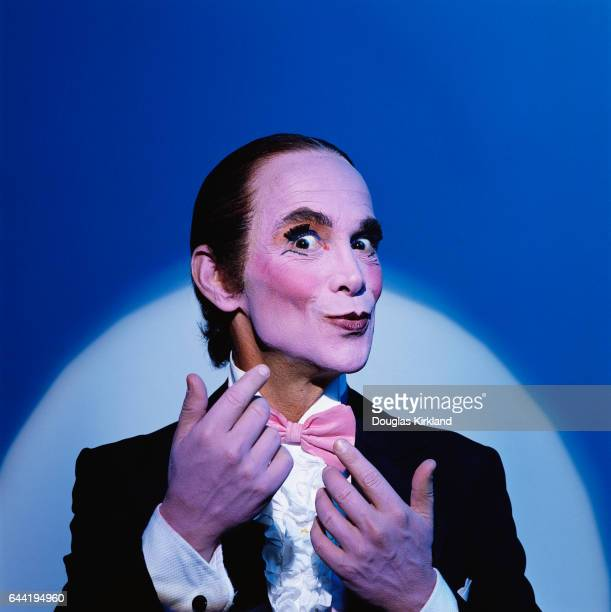 Actor Joel Grey as the Master of Ceremonies the sardonic musical commentator on the story in Cabaret Grey created the role on Broadway and won an...