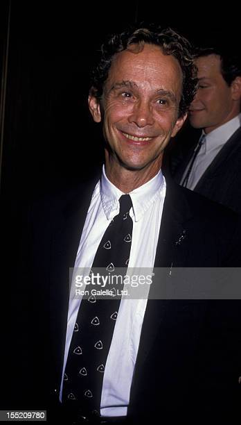 Actor Joel Grey attends the premiere of 'Dirty Dancing' on August 17 1987 at the Gemini Theater in New York City