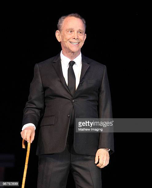 "Actor Joel Grey performs at the 5th Annual ""A Fine Romance"" at 20th Century Fox on May 1, 2010 in Los Angeles, California."