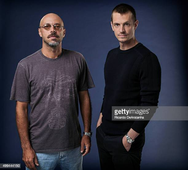 Actor Joel Kinnaman and director Jose Padilha are photographed for Los Angeles Times on January 24, 2014 in Los Angeles, California. PUBLISHED IMAGE....