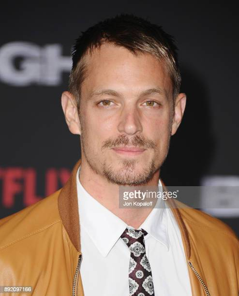 Actor Joel Kinnaman and wife Cleo Wattenstrom attend the premiere of Netflix's 'Bright' at Regency Village Theatre on December 13 2017 in Westwood...