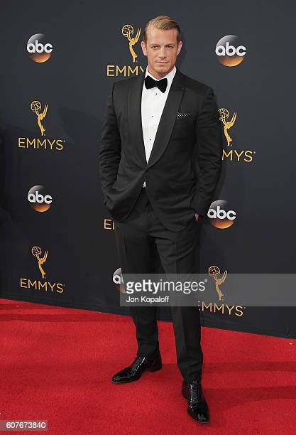 Actor Joel Kinnaman arrives at the 68th Annual Primetime Emmy Awards at Microsoft Theater on September 18 2016 in Los Angeles California