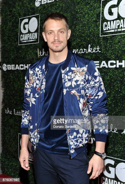 Actor Joel Kinnaman attends the 2017 GO Campaign Gala at NeueHouse Los Angeles on November 18 2017 in Hollywood California