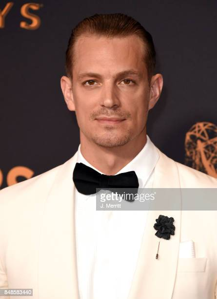 Actor Joel Kinnaman attends the 69th Annual Primetime Emmy Awards at Microsoft Theater on September 17 2017 in Los Angeles California