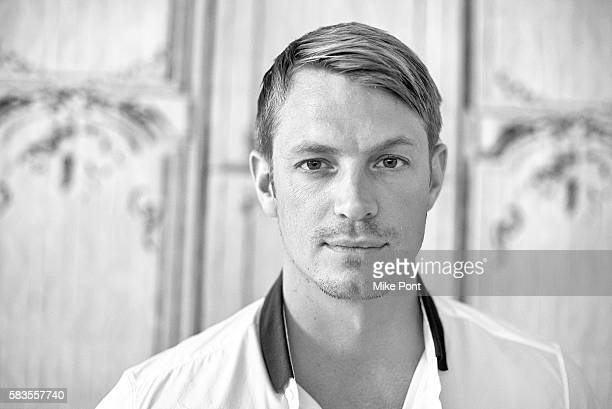 Actor Joel Kinnaman attends the AOL Build Series to discuss Suicide Squad at AOL HQ on July 26 2016 in New York City