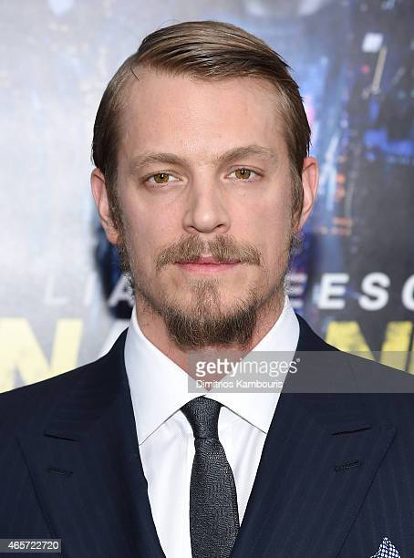 Actor Joel Kinnaman attends the Run All Night New York Premiere at AMC Lincoln Square Theater on March 9 2015 in New York City