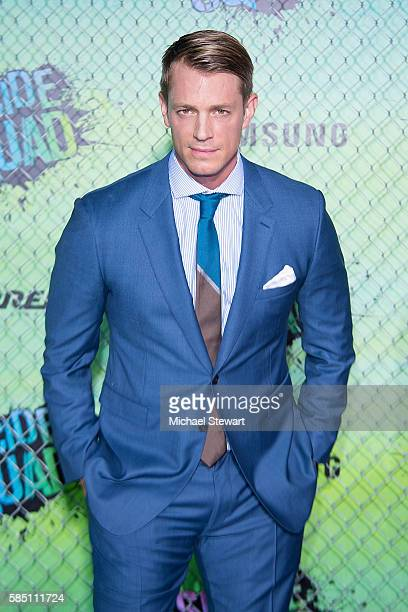 Actor Joel Kinnaman attends the 'Suicide Squad' world premiere at The Beacon Theatre on August 1 2016 in New York City