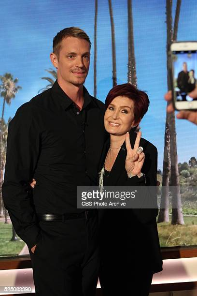 Actor Joel Kinnaman discusses his television series on 'The Talk' Friday April 22 2016 on the CBS Television Network From left Joel Kinnaman and...