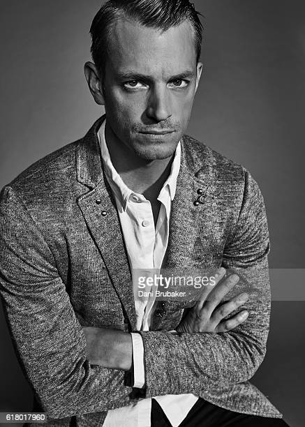 Actor Joel Kinnaman is photographed for The Laterals on July 9 2016 in Los Angeles California
