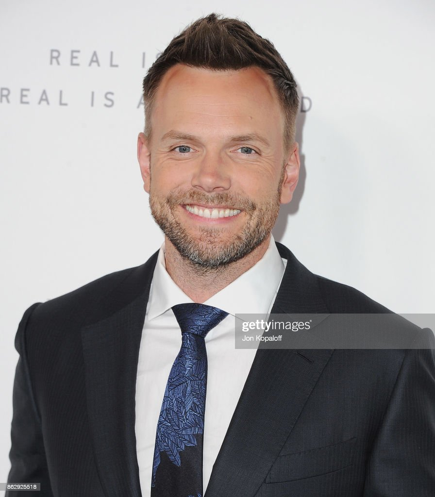 Actor Joel McHale arrives at ELLE's 24th Annual Women in Hollywood Celebration at Four Seasons Hotel Los Angeles at Beverly Hills on October 16, 2017 in Los Angeles, California.