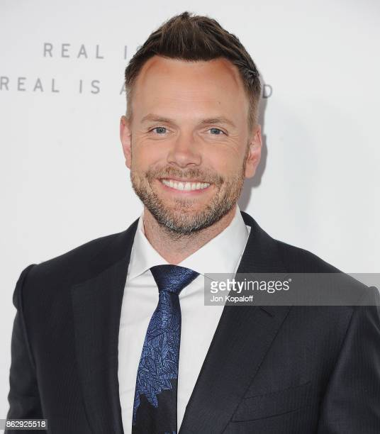 Actor Joel McHale arrives at ELLE's 24th Annual Women in Hollywood Celebration at Four Seasons Hotel Los Angeles at Beverly Hills on October 16 2017...