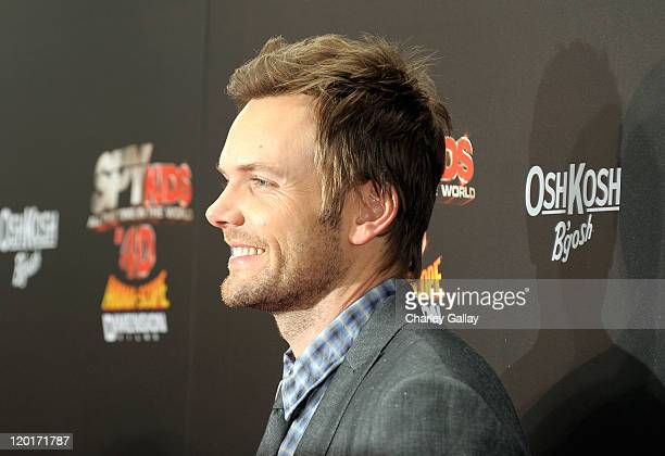 """Actor Joel McHale arrives at """"Spy Kids: All The Time In The World 4D"""" Los Angeles premiere co-sponsored by Osh Kosh B-Gosh & Kool-Aid at the Regal..."""