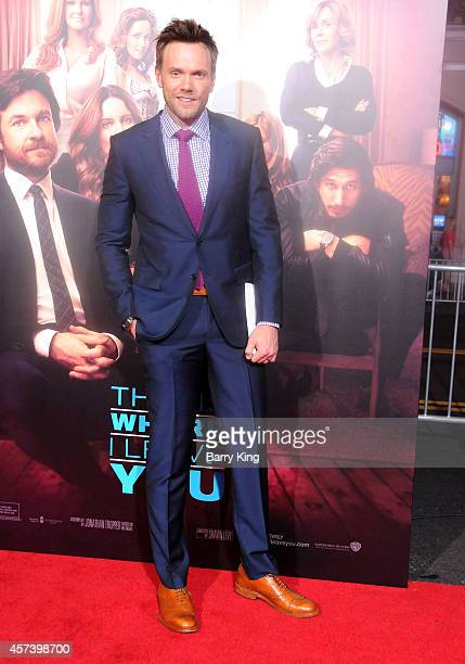 Actor Joel McHale arrives at the Los Angeles Premiere 'This Is Where I Leave You' at TCL Chinese Theatre on September 15 2014 in Hollywood California