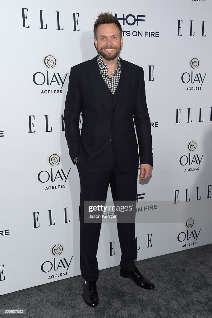 Actor Joel McHale attends ELLE's 6th Annual Women in Television Dinner Presented by Hearts on Fire Diamonds and Olay at Sunset Tower on January 20, 2016 in West Hollywood, California.