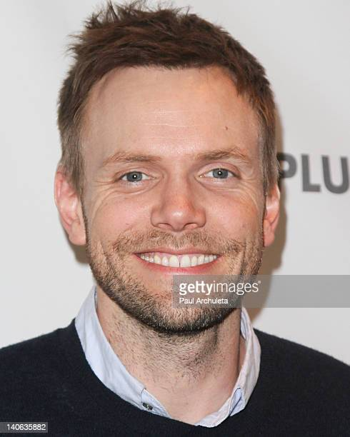 """Actor Joel McHale attends the 2012 PaleyFest presentation of """"Community"""" at Saban Theatre on March 3, 2012 in Beverly Hills, California."""