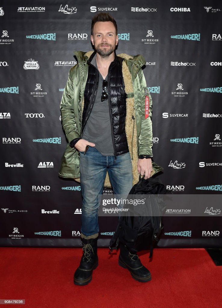 Actor Joel McHale attends the Gamechanger Films reception at the RAND Luxury Escape during the 2018 Sundance Film Festival at The St. Regis Deer Valley on January 21, 2018 in Park City, Utah.