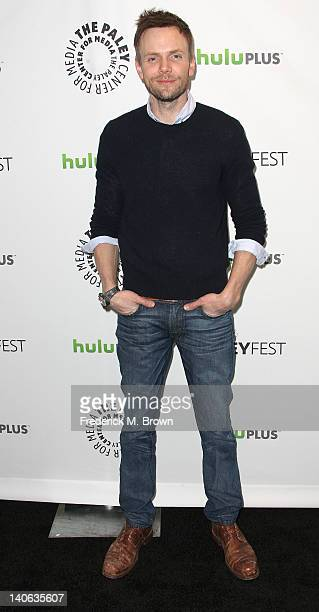 Actor Joel McHale attends The Paley Center For Media's PaleyFest 2012 Honoring 'Community' at the Saban Theatre on March 3 2012 in Beverly Hills...