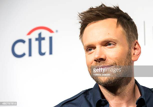 Actor Joel McHale attends The Paley Center For Media's PaleyFest 2014 Honoring Community at Dolby Theatre on March 26 2014 in Hollywood California