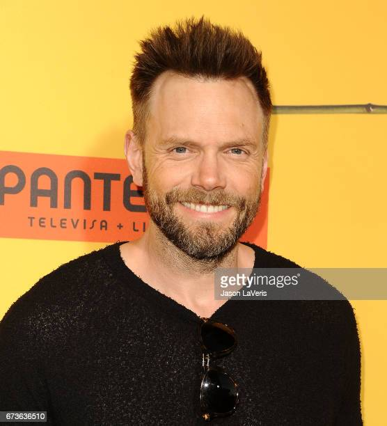 Actor Joel McHale attends the premiere of 'How to Be a Latin Lover' at ArcLight Cinemas Cinerama Dome on April 26 2017 in Hollywood California