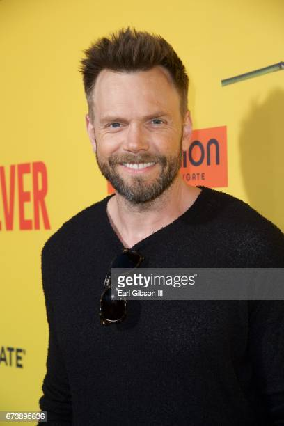 Actor Joel McHale attends the Premiere Of Pantelion Films 'How To Be A Latin Lover' at ArcLight Cinemas Cinerama Dome on April 26 2017 in Hollywood...