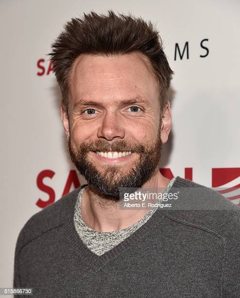 Actor Joel McHale attends the premiere of Saban Films' 'The Confirmation' on March 15 2016 in Los Angeles California