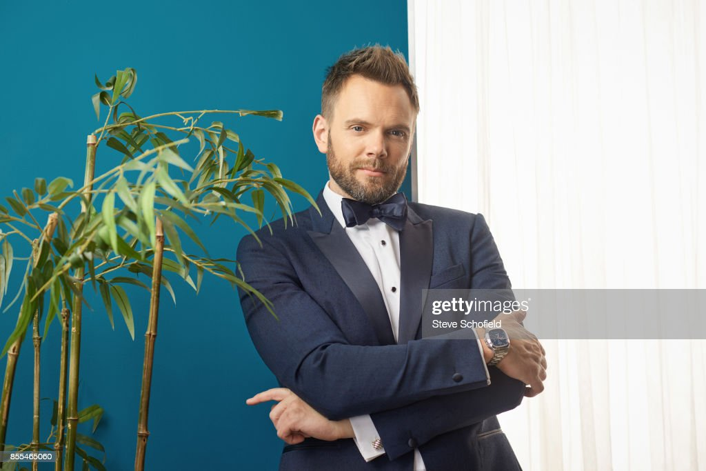 Actor Joel McHale is photographed for Emmy magazine on September 18, 2016 in Los Angeles, California.