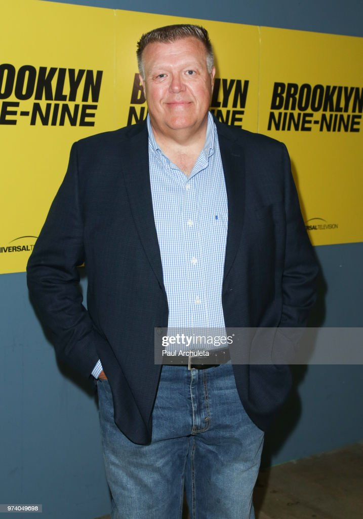 Actor Joel McKinnon Miller attends Universal Television's FYC of 'Brooklyn Nine-Nine' at UCB Sunset Theater on June 13, 2018 in Los Angeles, California.