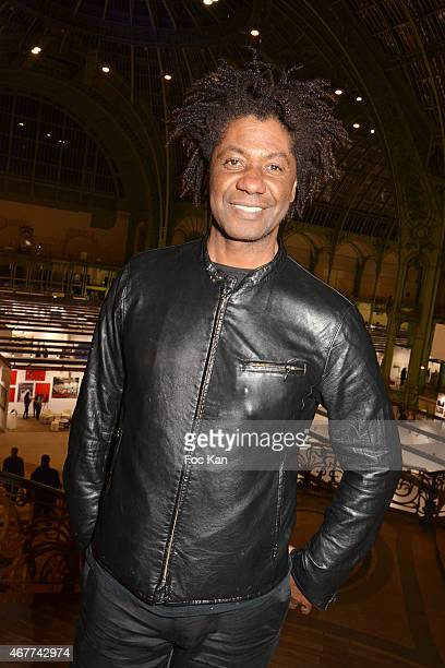 Actor Joel Virgel Vierset attends the 'Diamond Night by Divinescence Vendome' Harumi Klossowska Jewellery Exhibition Preview As Part Of Art Paris Art...