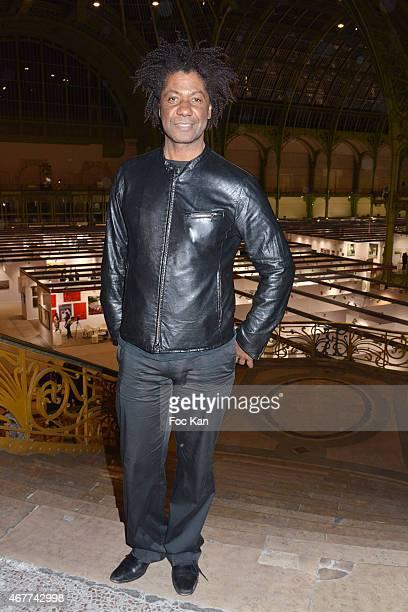 Actor Joel Virgel Vierset attends the 'Diamond Night by Divinescence Vendome' Harumi Klossowska Jewellery Exhibition Preview As Part Of Art Paris Art...
