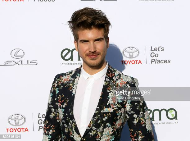 Actor Joey Graceffa attends the 27th Annual EMA Awards at Barker Hangar on September 23 2017 in Santa Monica California