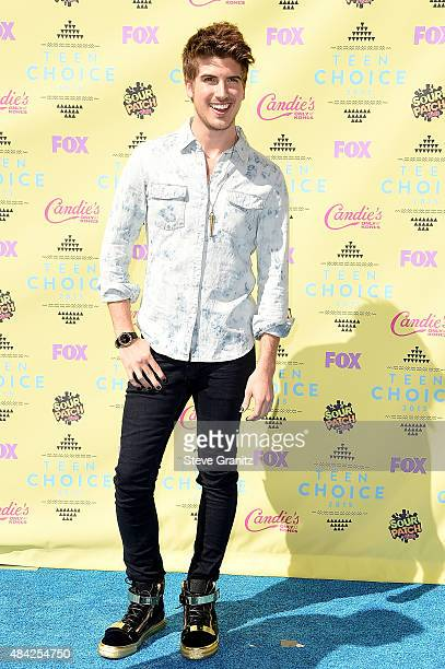 Actor Joey Graceffa attends the Teen Choice Awards 2015 at the USC Galen Center on August 16 2015 in Los Angeles California